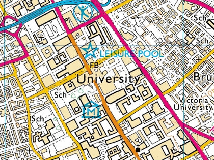 Manchester Uni Map iManchester mobile app (The University of Manchester) Manchester Uni Map